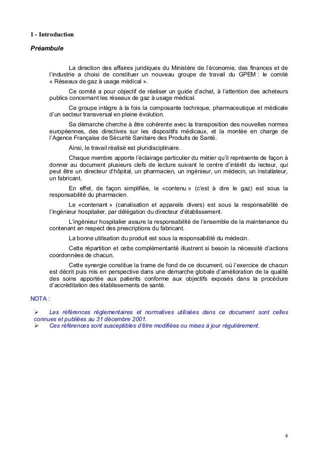 1 - IntroductionPréambule               La direction des affaires juridiques du Ministère de l'économie, des finances et d...