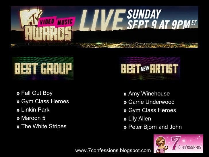 2007 Mtv Video Music Awards Nominations