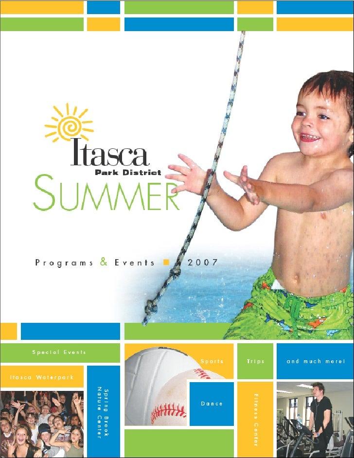Joliet Park District     Joliet Park District winter/spring 2008 programs
