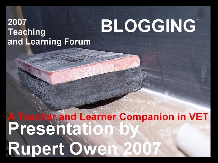 2007 Teaching And Learning Forum