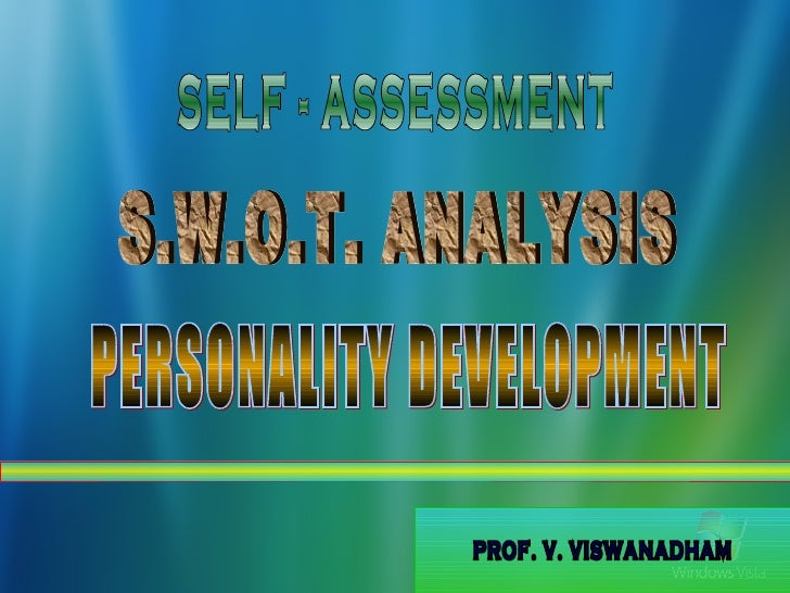 self analysis personality Confused about your career choices -- your next job need expert direction plan your future with these self-assessment and career discovery tests.