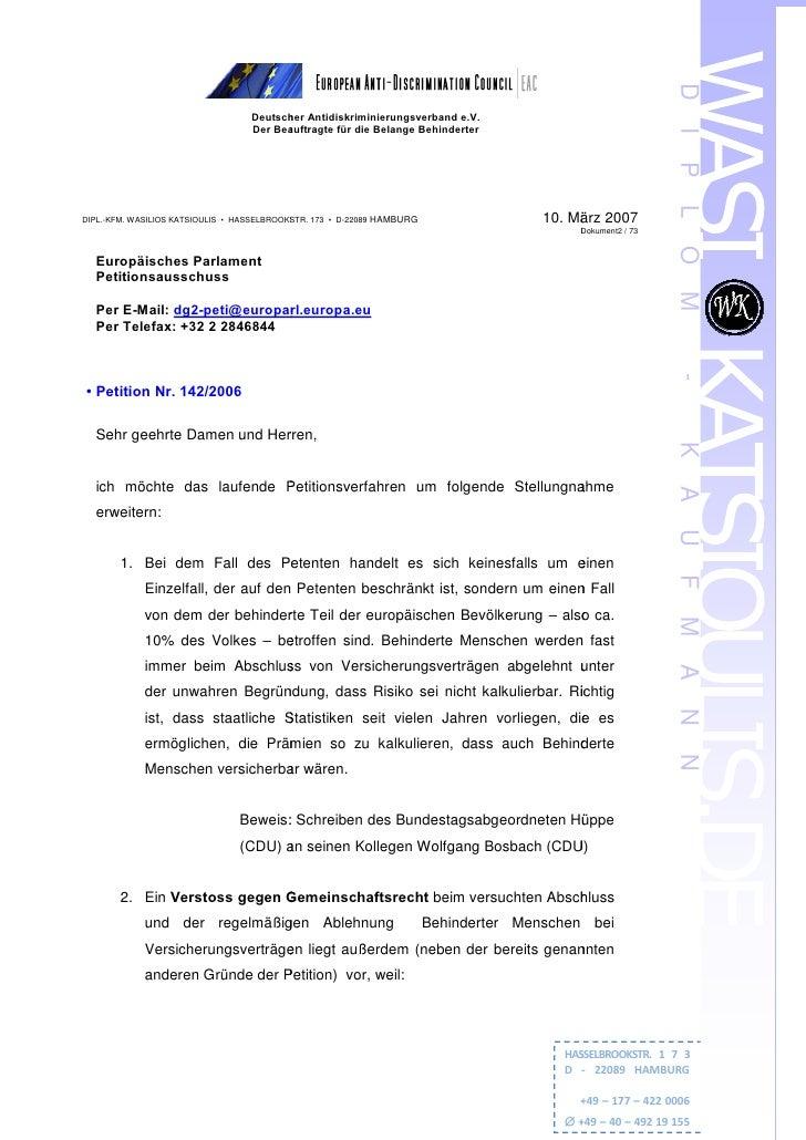 D                                    Deutscher Antidiskriminierungsverband e.V.                                    Der Bea...