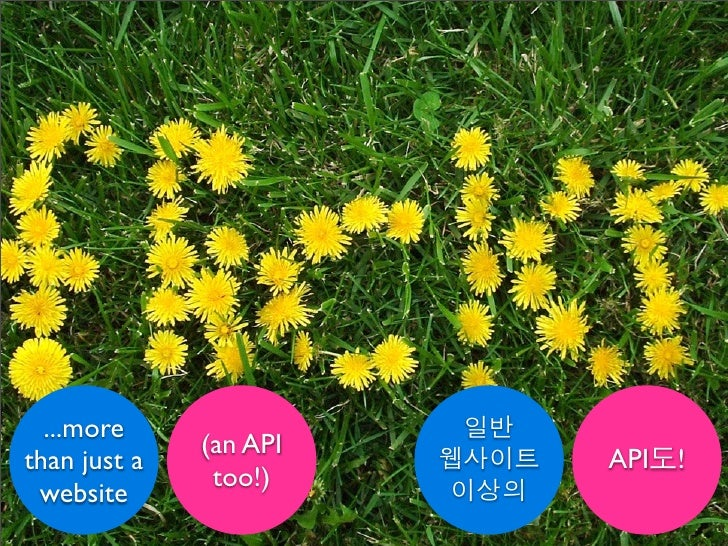 The Flickr API: An Introduction for Korean Developers
