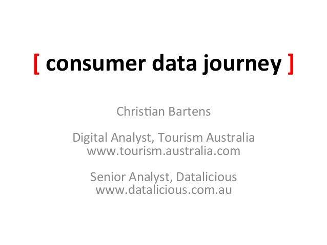 [ consumer data journey ]                   Chris&an Bartens                                     Digital ...