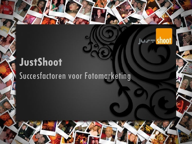 JustShoot Succesfactoren voor Fotomarketing