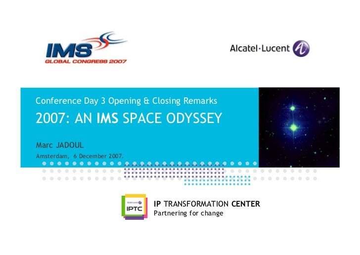 2007: An IMS Space Odyssey (2007)