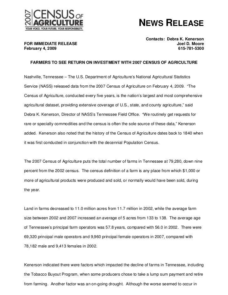 NEWS RELEASE                                                                     Contacts: Debra K. KenersonFOR IMMEDIATE ...