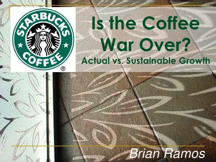 Corporate Finance Starbucks Final Project