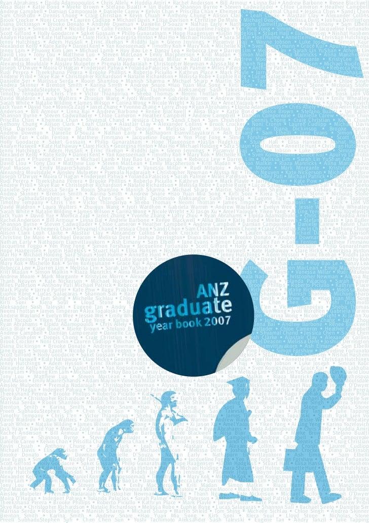2007 Graduate Yearbook Final