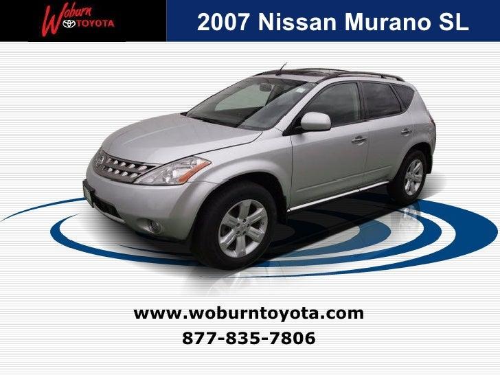 Used 2007 Nissan Murano SL -  Boston