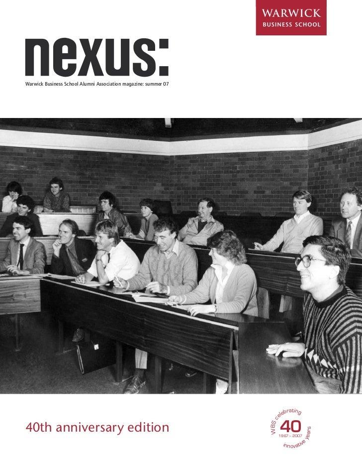Nexus Summer 2007