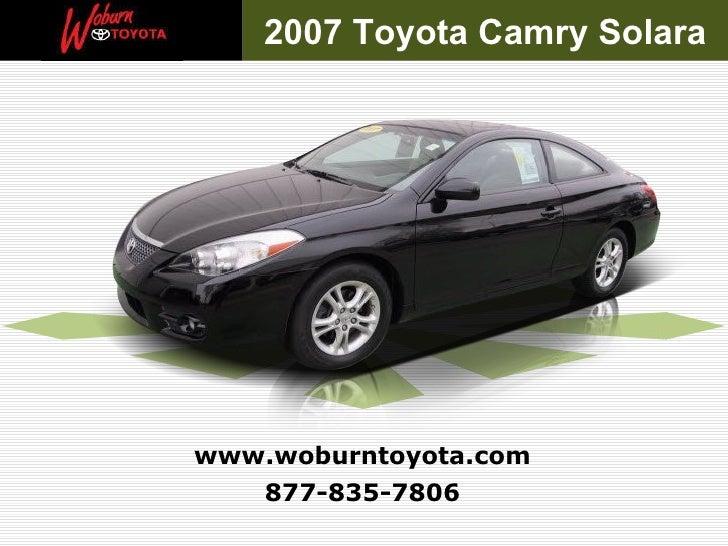 Used 2007 Toyota Camry Solara SE - Boston