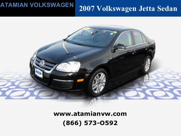 Used 2007 Volkswagen Jetta Sedan - Cambridge, MA