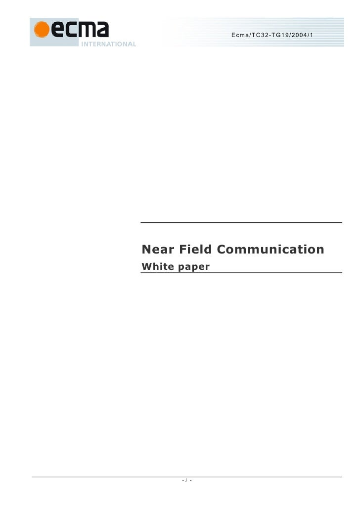2008 02 - ecma international nfc white paper