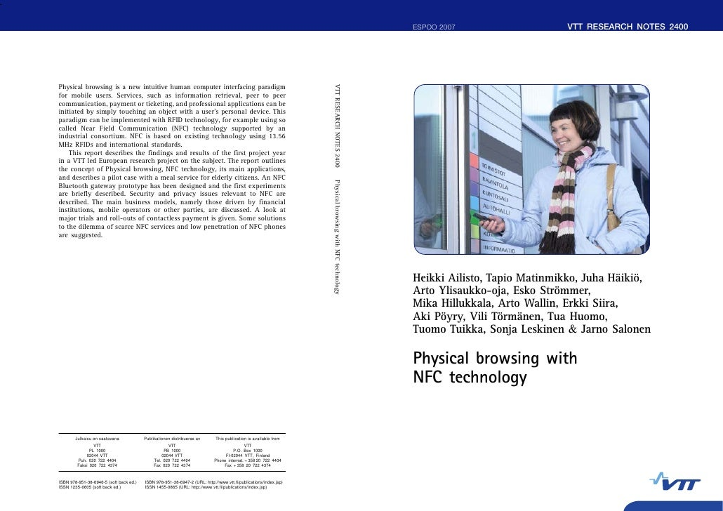 2008 02 - smarttouch - physical browsing with nfc technology