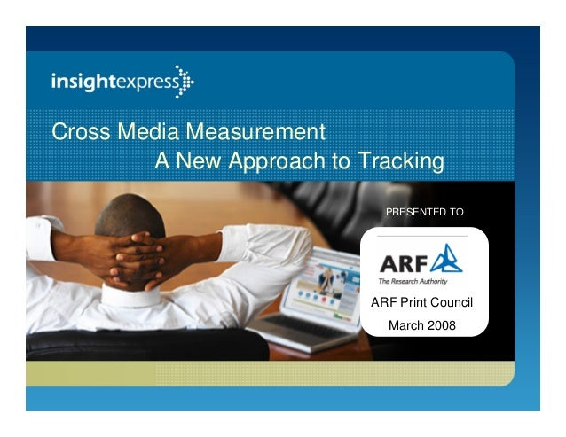 Cross Media Measurement: A New Approach to Tracking