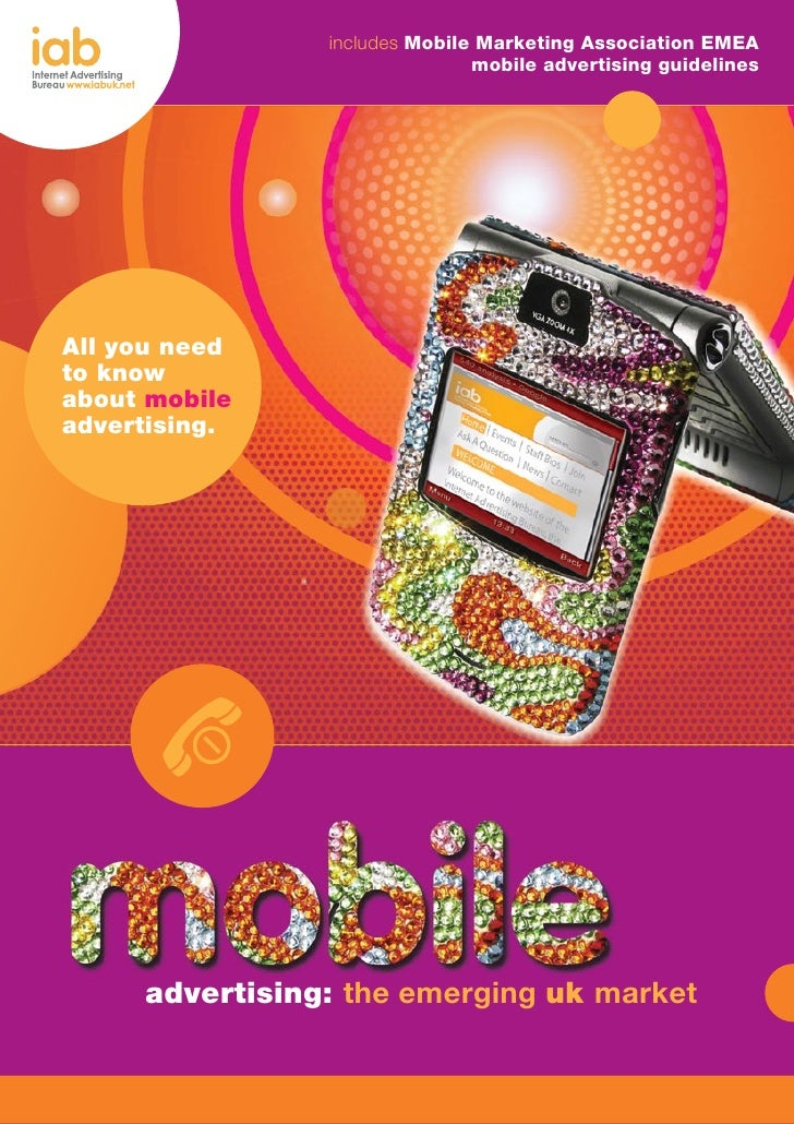 2008.08 Mobile Internet Advertising - Report IAB