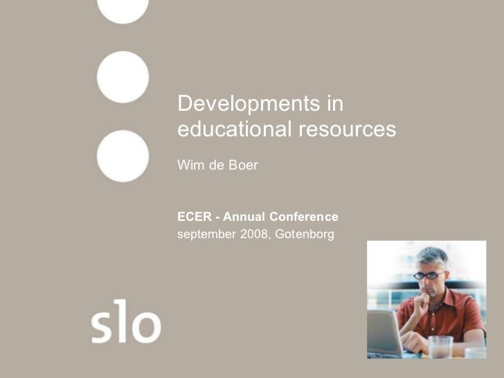 Developments in educational resources