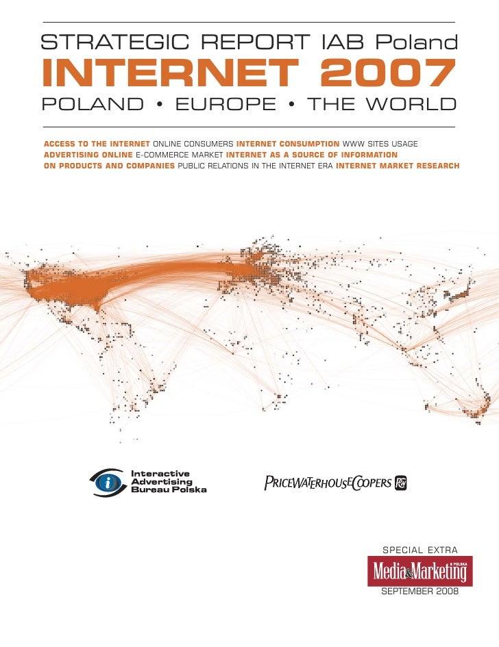 2008.09 Strategic report IAB Poland 2007 - ENGLISH VERSION