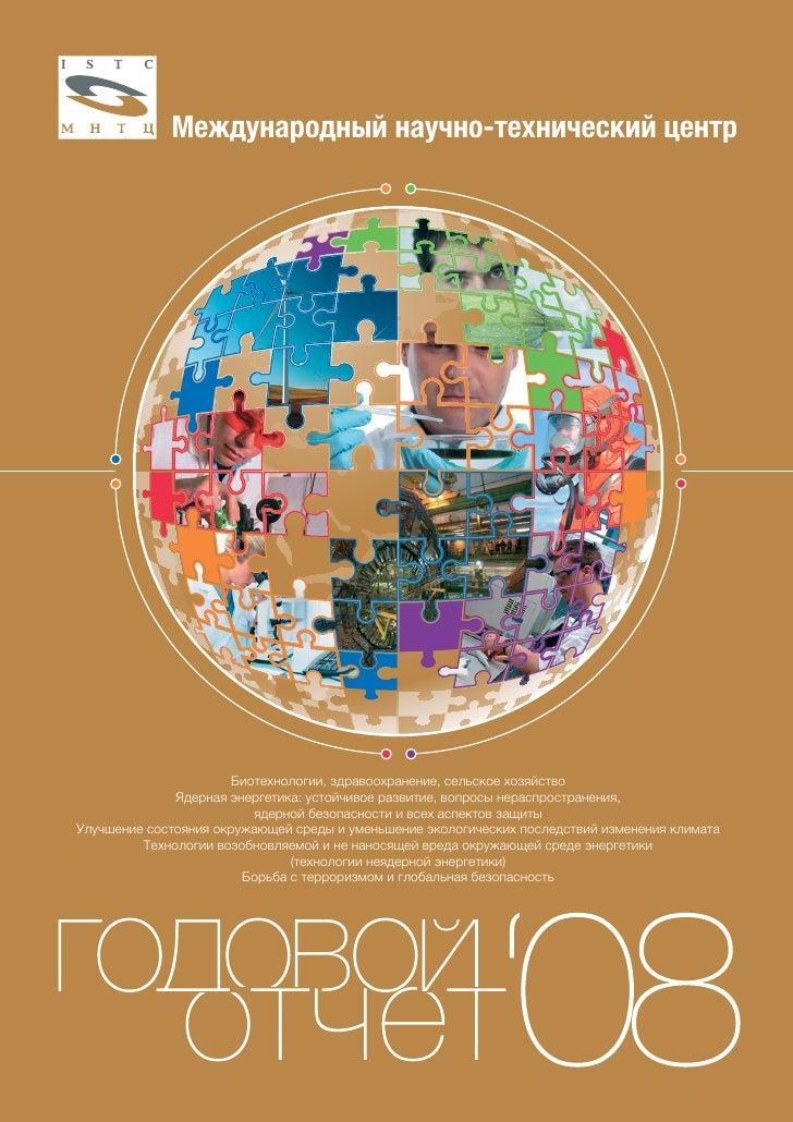 годовой отчет мнтц   2008