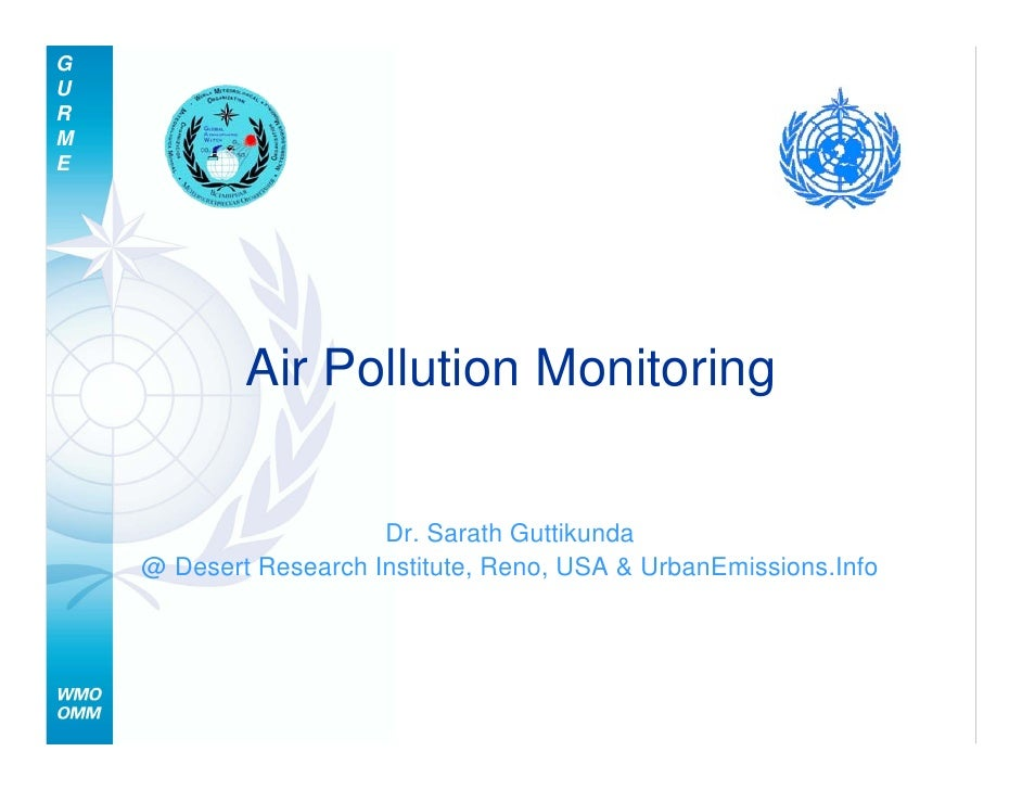 2008 12 Wmo Gurme Air Pollution Monitoring