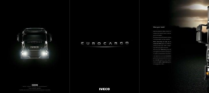 Eurocargo - Catalogo di lancio