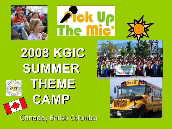 2008 Kgic Summer Camp Pic Up The Mic