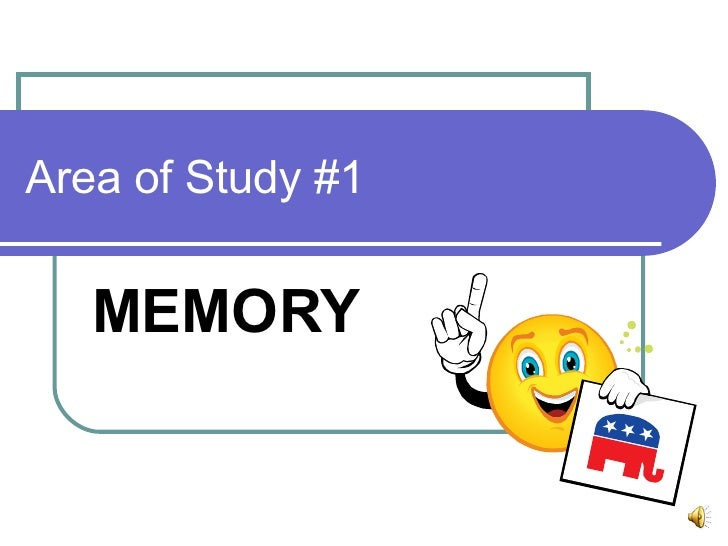 2008 Memory Revision