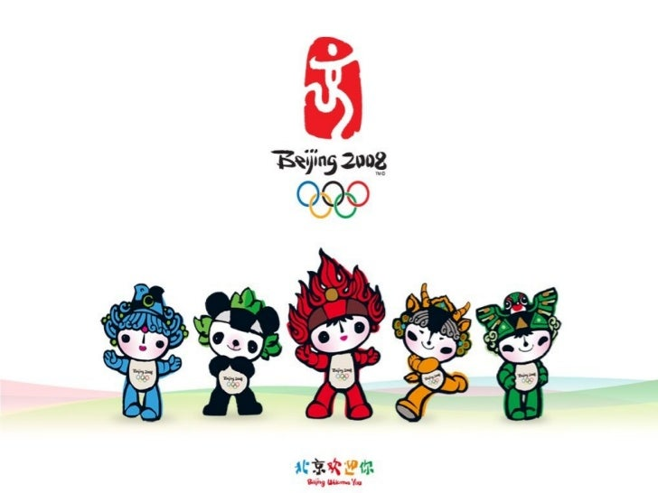 China Beijing Olympics 2008 Olympic Mascots Beijing China
