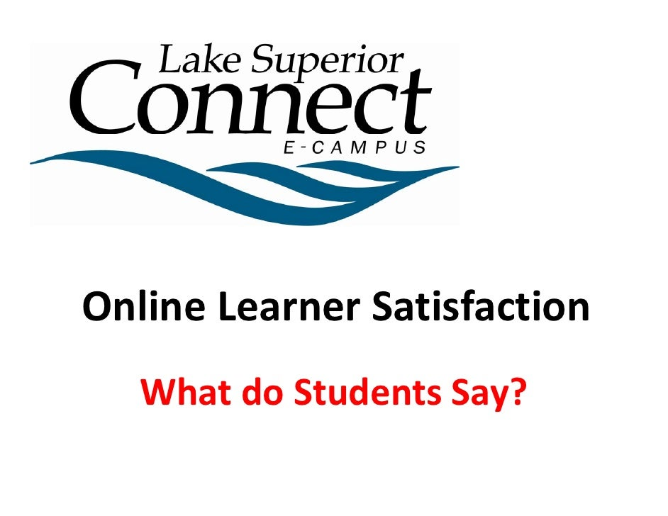 2008 Online Learner Satisfaction