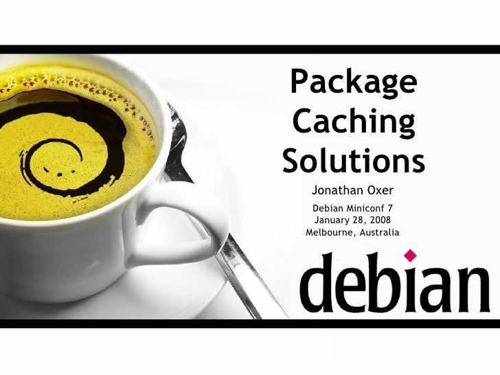 Debian Package Caching Solutions