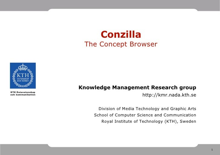 Short introduction to Conzilla