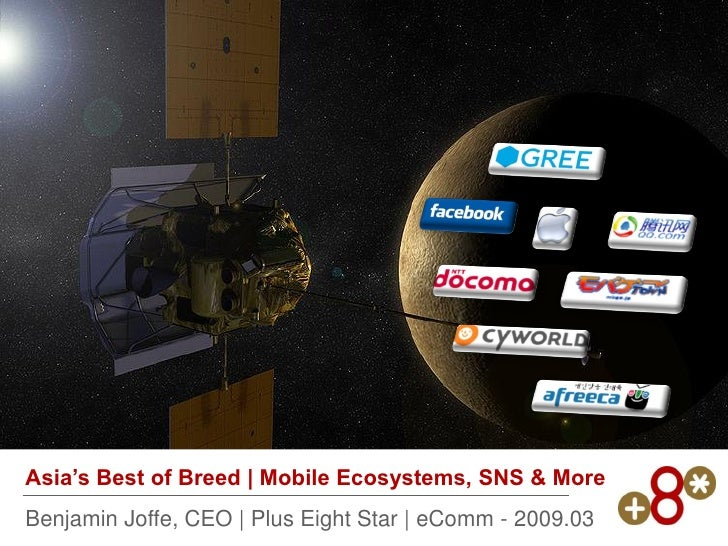 Asia's Best of Breed | Mobile Ecosystems, SNS & More Benjamin Joffe, CEO | Plus Eight Star | eComm - 2009.03