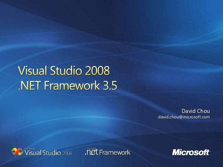 20080620 VS2008+.Net3.5