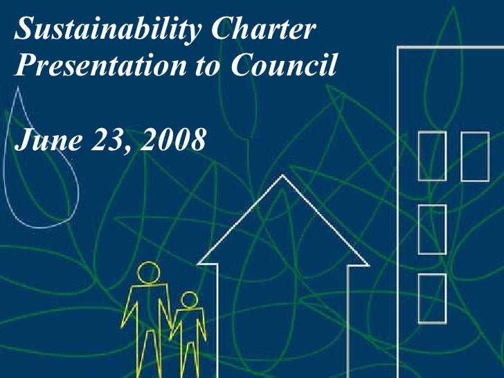 Township of Langley Sustainability Charter