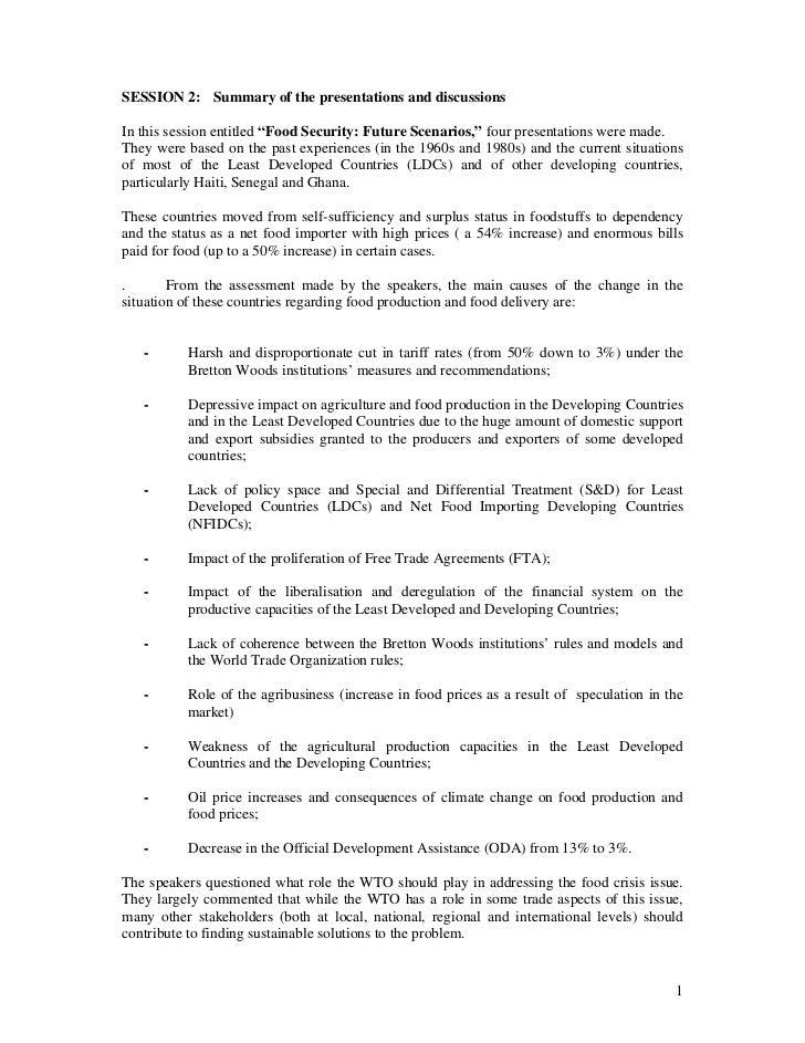 20080731 summary of session 2 rapporteur eloi laourou