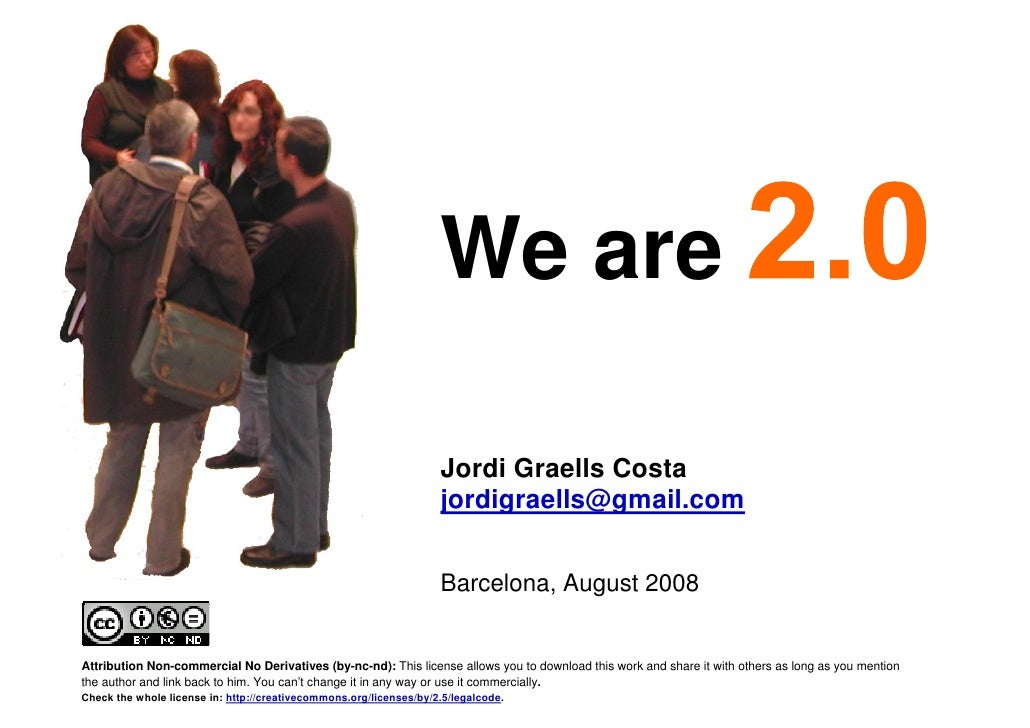We are                                                                          Jordi Graells Costa                       ...