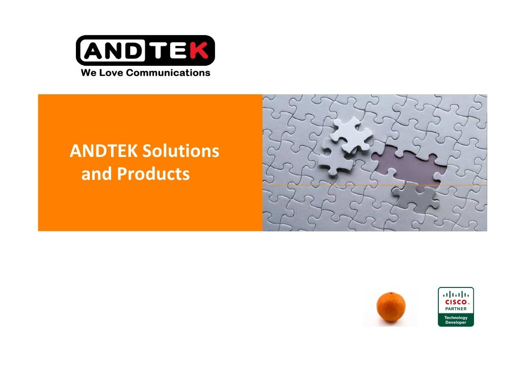 ANDTEK Solutions  and Products