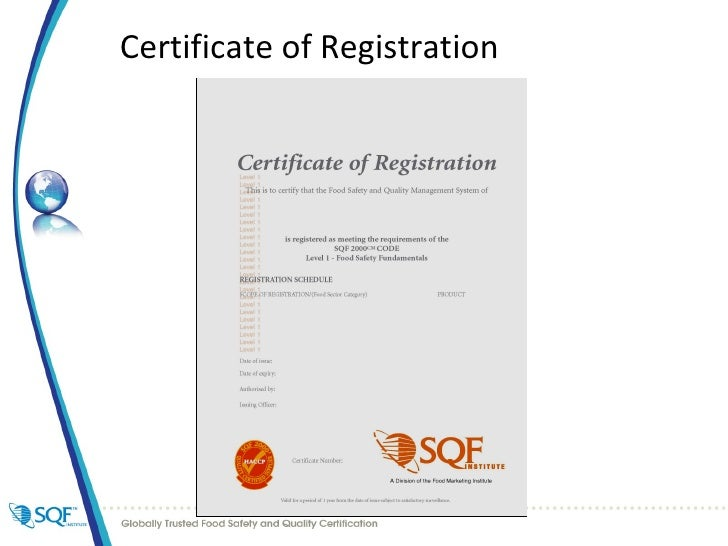 Sqfi And The Sqf Standard