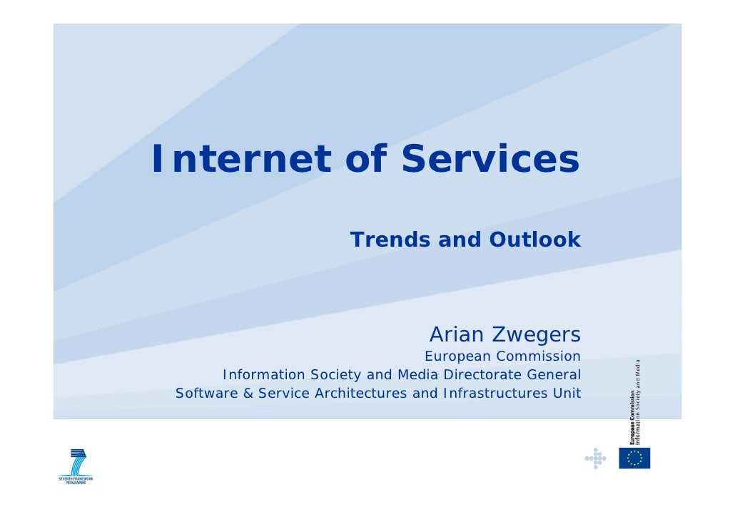 20081023 Internet of Services at eChallenges 2008 conference