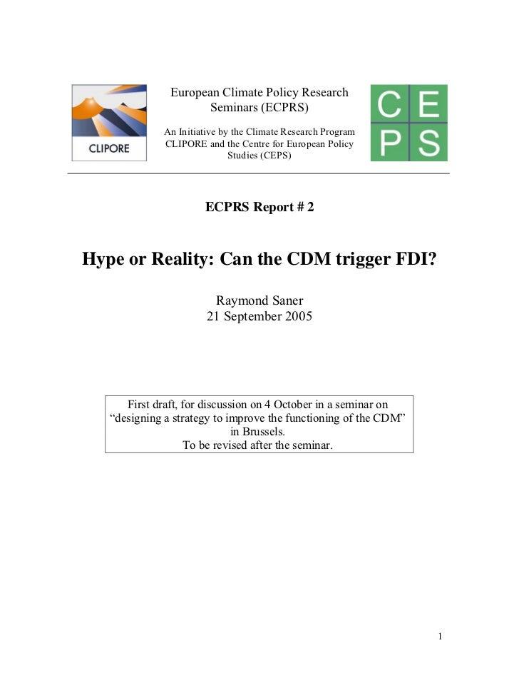 20081124 cdm-fdi paper 2 rs final