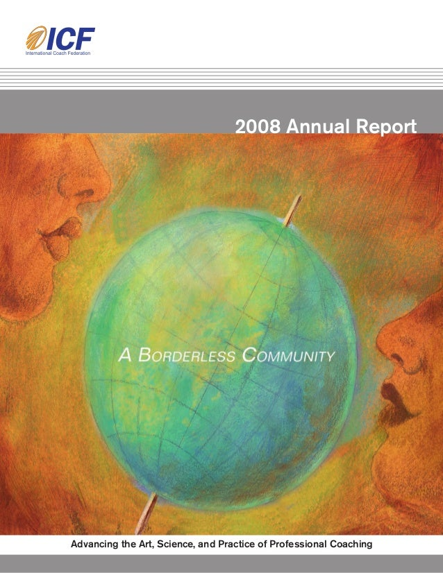 2008 International Coach Federation Annual Report