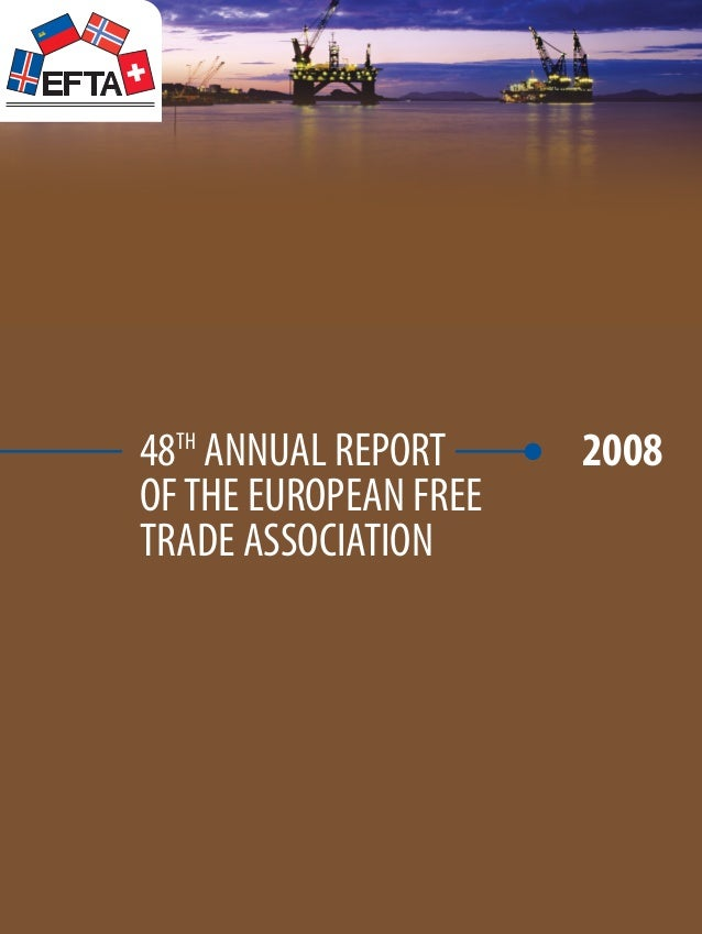 48th Annual Report of The European Free Trade Association 2008