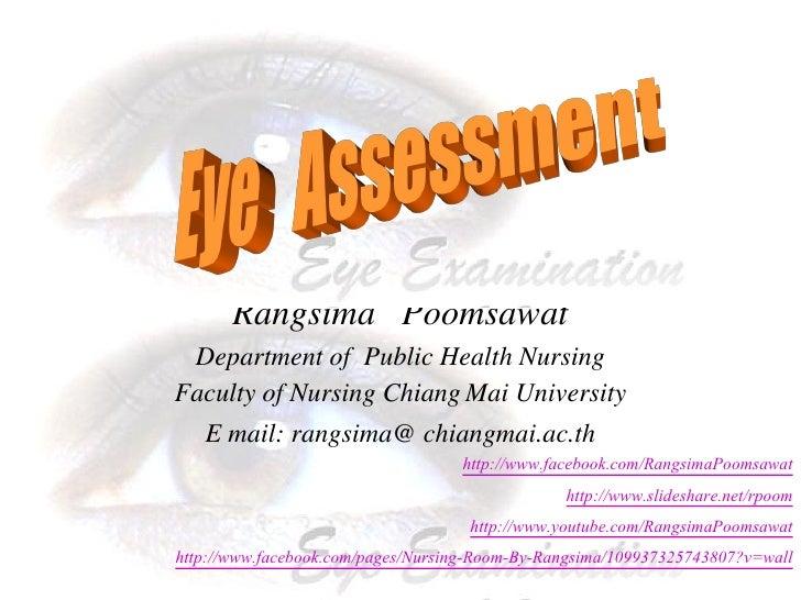 Eye assessment
