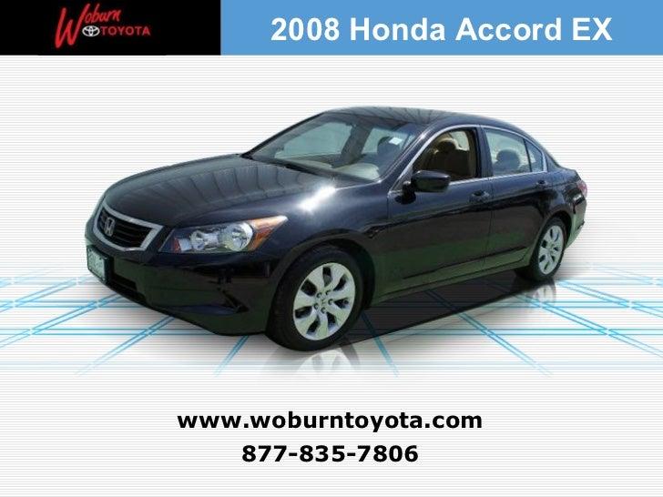 Used 2008 Honda Accord EX - Boston