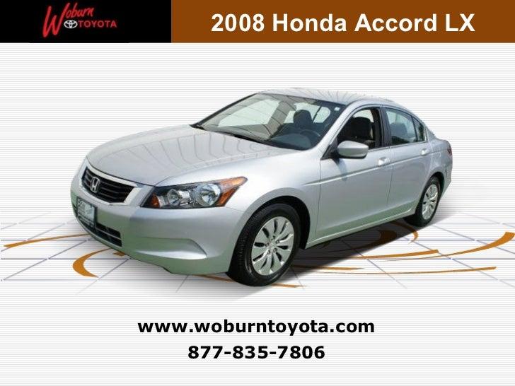 Used 2008 Honda Accord LX - Boston