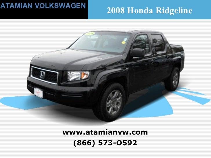 Used 2008 Honda Ridgeline Boston, MA