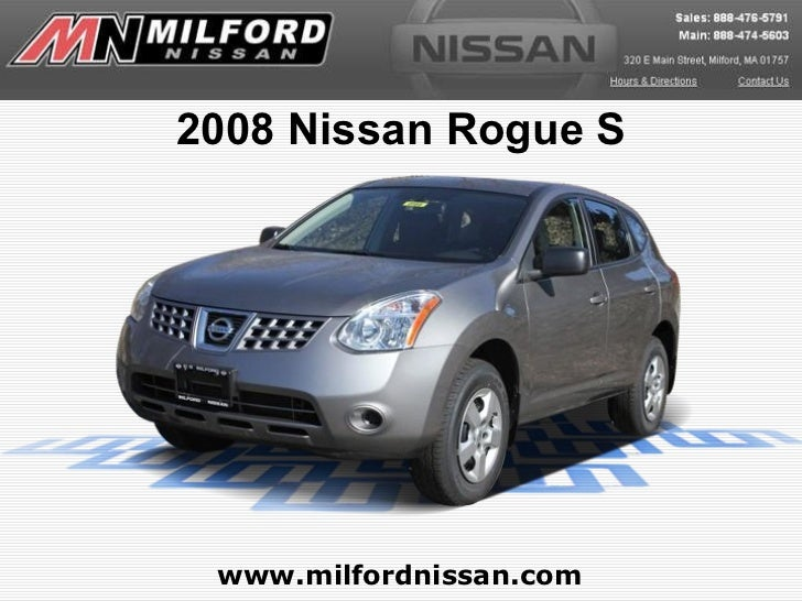 Used 2008 Nissan Rogue - Milford Nissan Worcester, MA