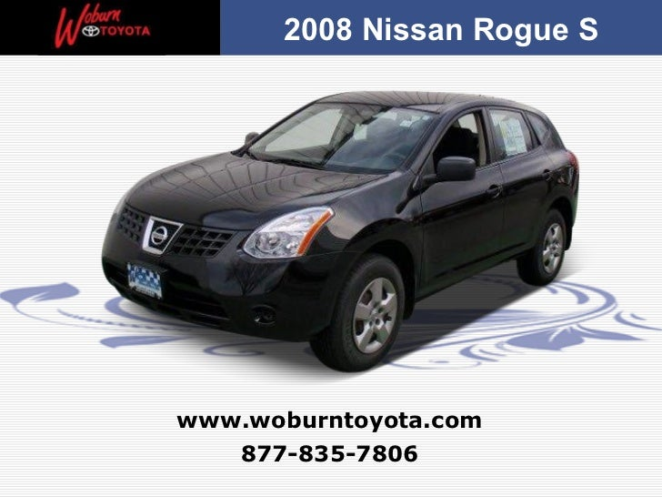 Used 2008 Nissan Rogue S - Boston