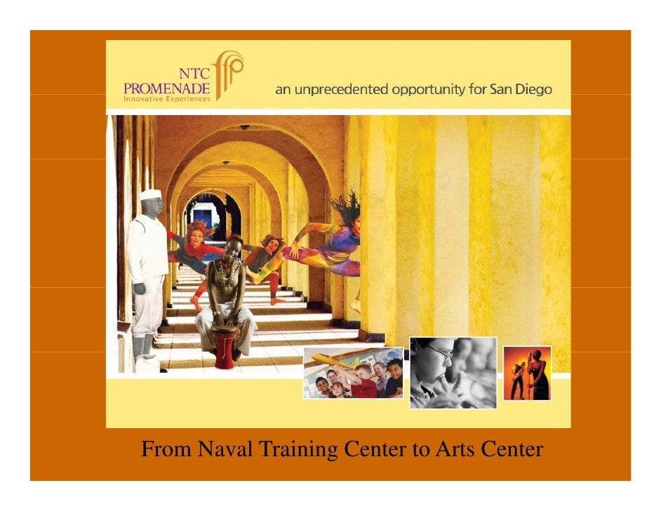 From Naval Training Center to Arts Center